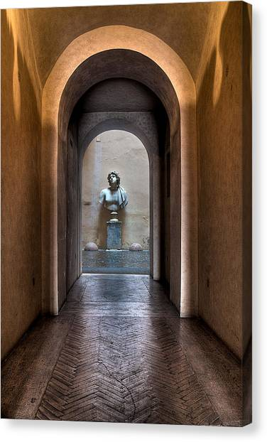Roman Entry Canvas Print