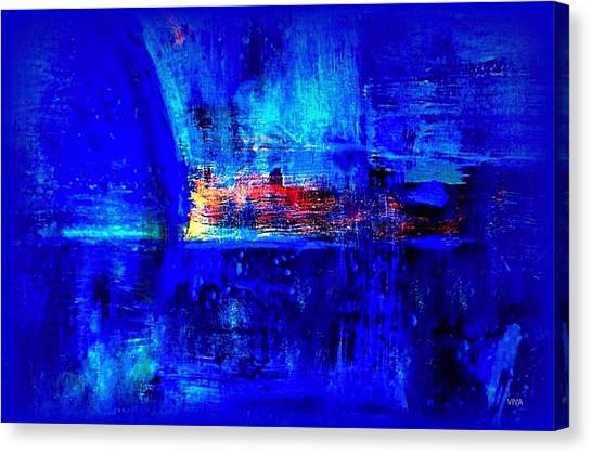 Romancing The Arctic Dedicated  Canvas Print