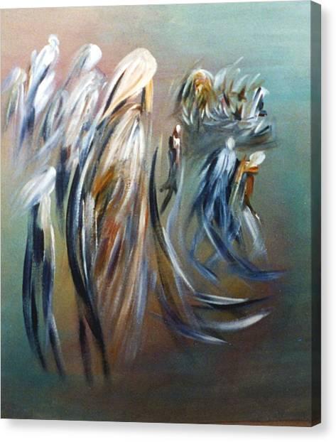 Romantic Landscape Canvas Print by Mushtaq Bhat