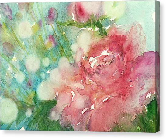romantic Rose Canvas Print