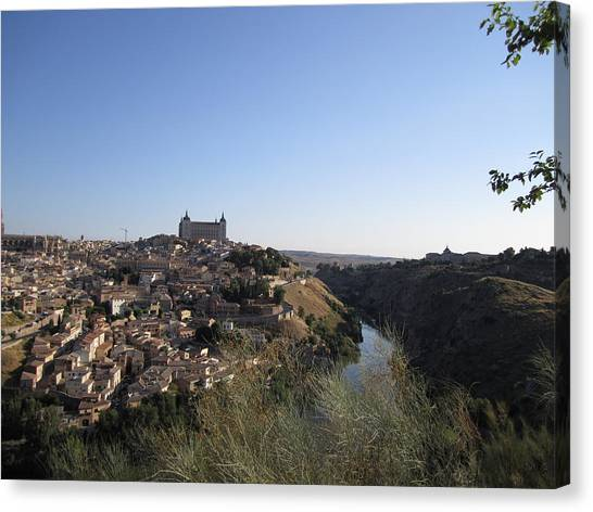 Romantic Toledo Canvas Print