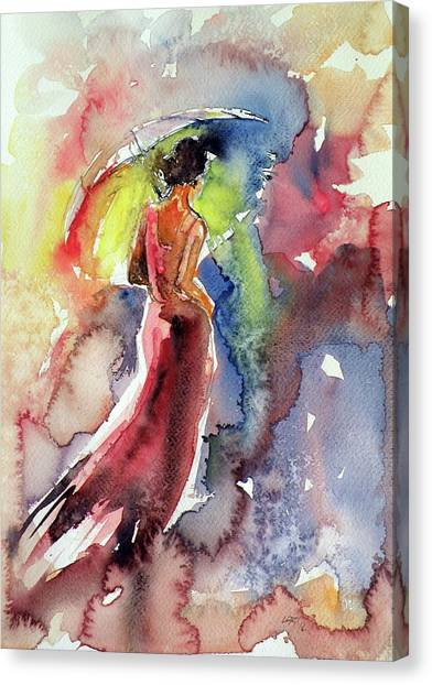 Romanticism Canvas Print - Romanticism by Kovacs Anna Brigitta