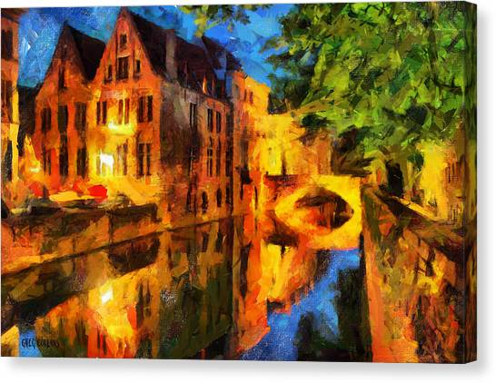 Romantique Canvas Print