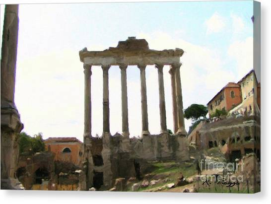 Rome The Eternal City Canvas Print