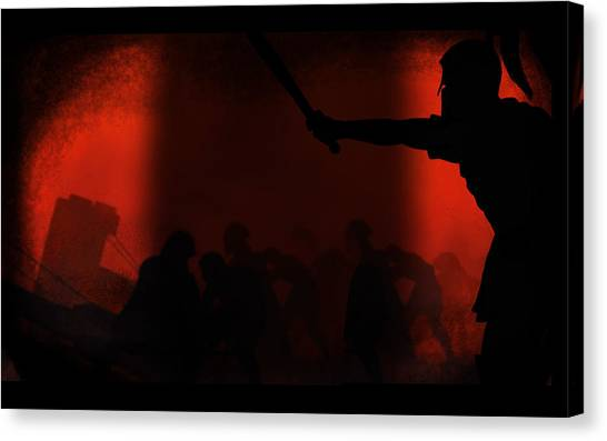 Star Wars Canvas Print - Rome Total War by Maye Loeser