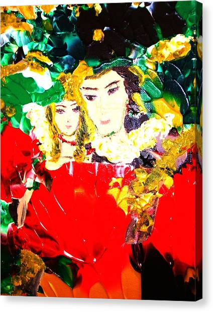 Romeo And Juliet Canvas Print by Carmen Doreal