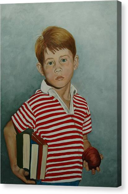 Ron Howard As Opie Taylor Canvas Print by Tresa Crain