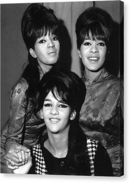 Ronettes Canvas Print by Chris Walter