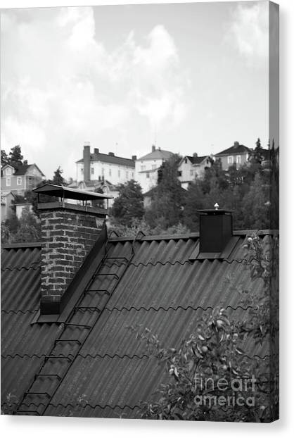 Roof Canvas Print by Tapio Koivula