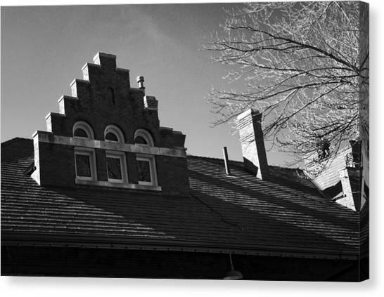 Roofline Canvas Print