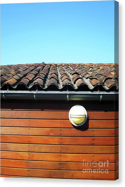 Roofline Ripples Canvas Print