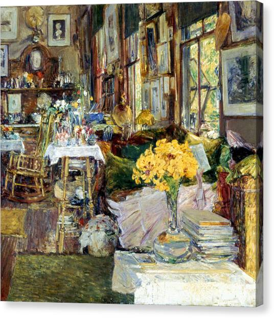 Aod Canvas Print - Room Of Flowers, 1894 by Granger