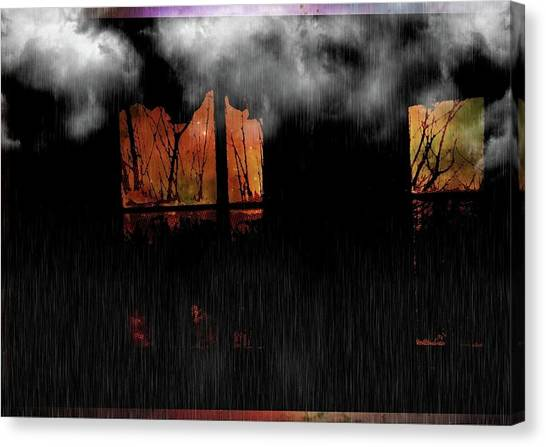 Room With Clouds Canvas Print