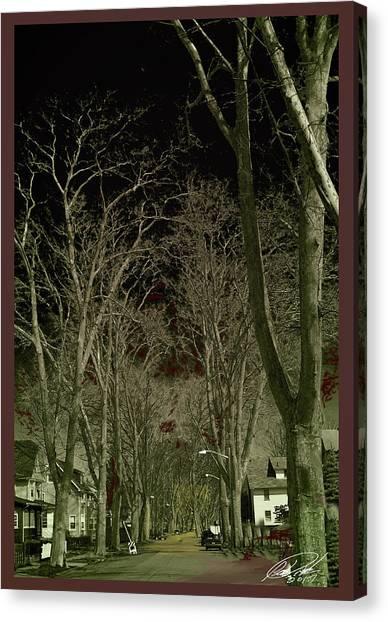 Roosevelt Avenue I Canvas Print