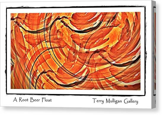 Root Beer Float Canvas Print by Terry Mulligan