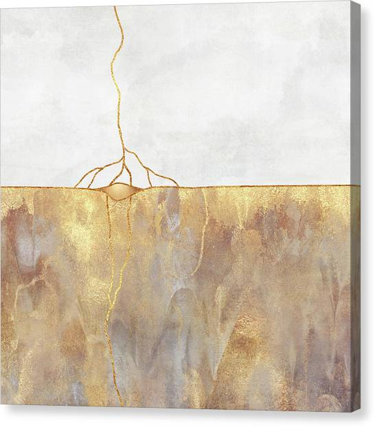 Simple Canvas Print - Roots by Elisabeth Fredriksson