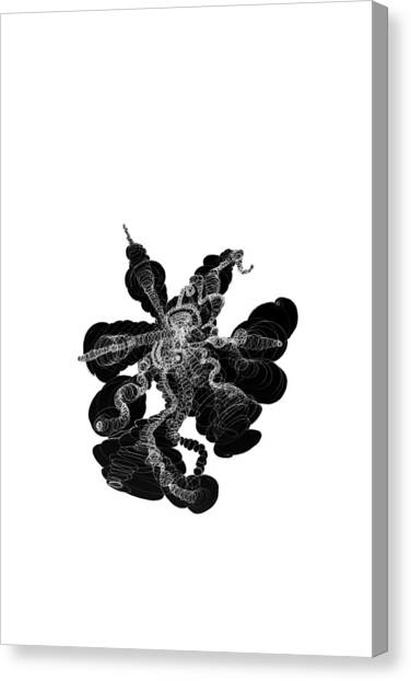 Psychology Canvas Print - Roots by Chikkas By Fran Galea