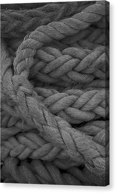 Rope I Canvas Print