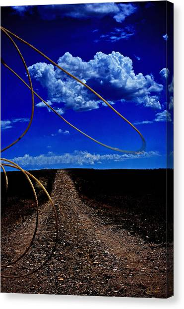 Rope The Road Ahead Canvas Print