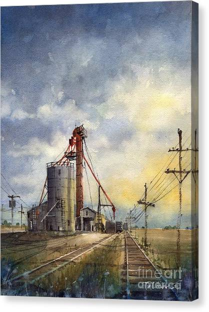 Ropes Grain Canvas Print