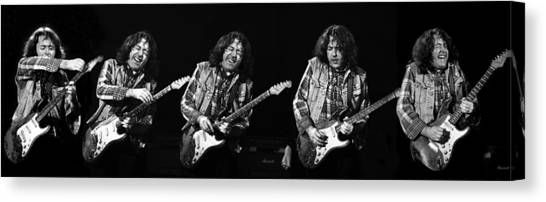 Rory Gallagher 5 Canvas Print