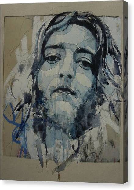 Irish Canvas Print - Rory Gallagher by Paul Lovering