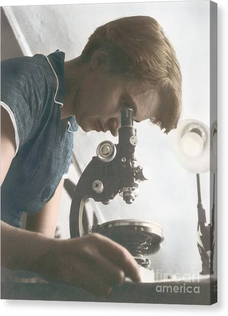 Notable Canvas Print - Rosalind Franklin, Crystallographer by Science Source