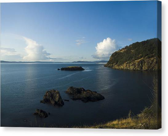 Rosario Strait Near Anacortes Canvas Print