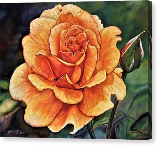 Rose 4_2017 Canvas Print