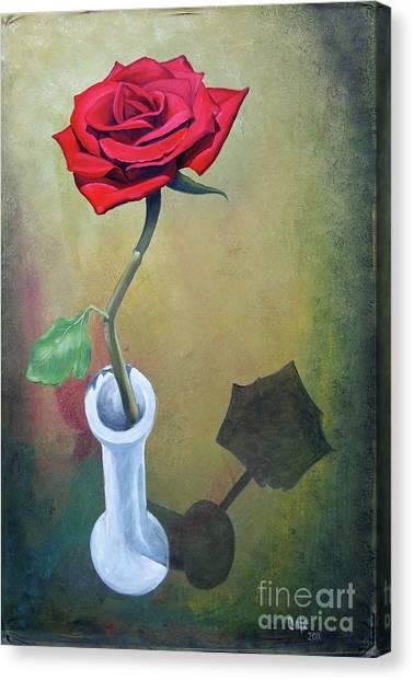 Rose 45 Canvas Print