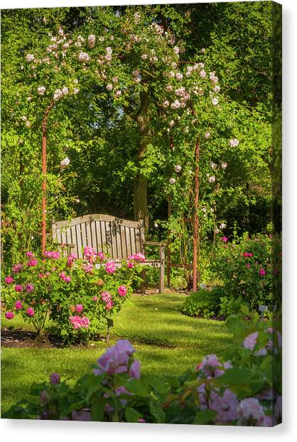 Rose Arbor Canvas Print