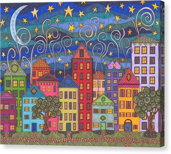 Rose Avenue Canvas Print