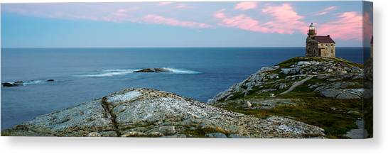 Newfoundland And Labrador Canvas Print - Rose Blanche Lighthouse At Coast by Panoramic Images