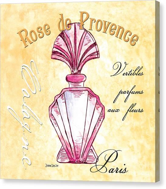 Rose Drawings Canvas Print - Rose De Provence by Debbie DeWitt