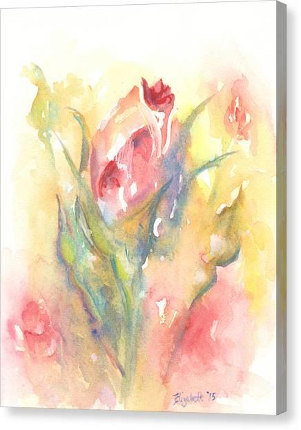 Rose Garden One Canvas Print
