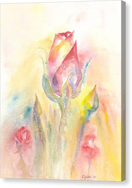 Rose Garden Two Canvas Print