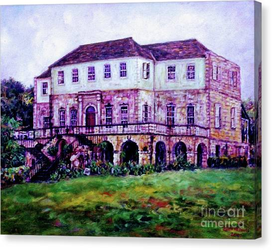 Rose Hall Great House Canvas Print