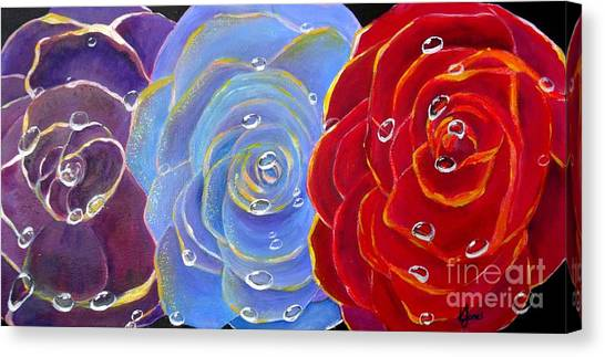 Rose Medley Canvas Print
