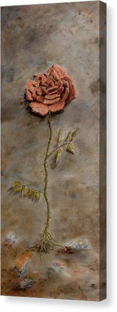 Rose Of Regeneration Canvas Print