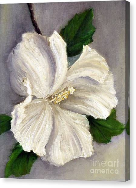 Rose Of Sharon Diana Canvas Print