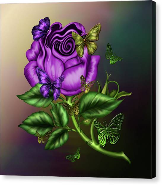 Rose Party Canvas Print