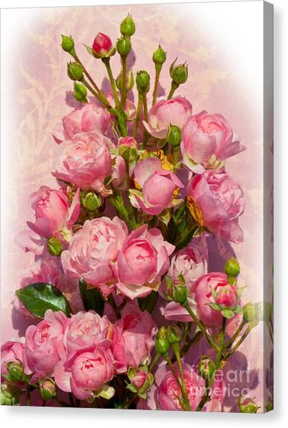 Roses Decor Canvas Print by Lutz Baar