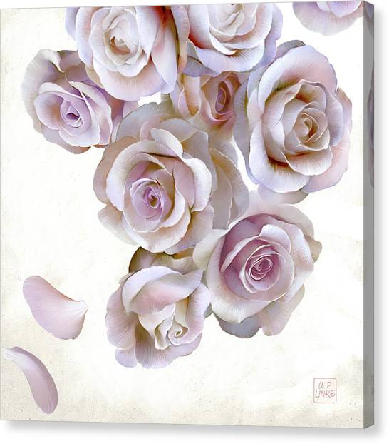 Roses Of Light Canvas Print
