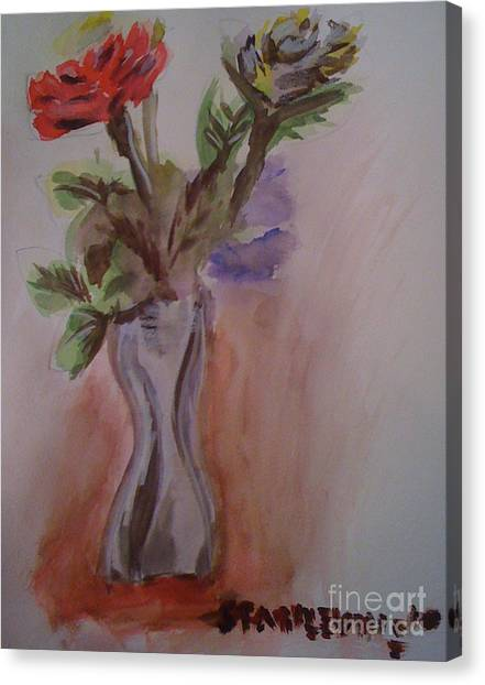 Roses Canvas Print by Stan Levine
