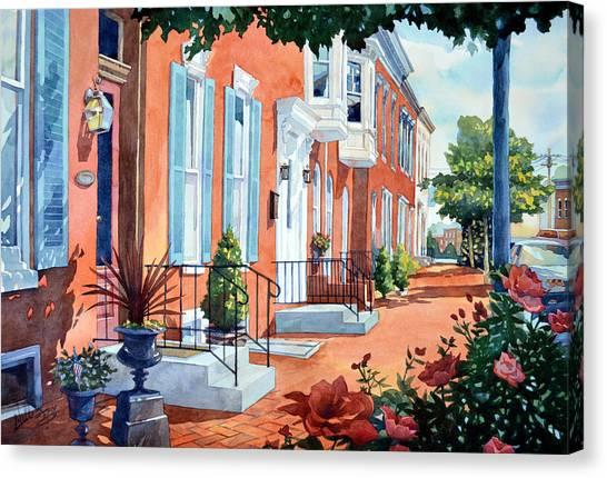 Rosewalk Canvas Print