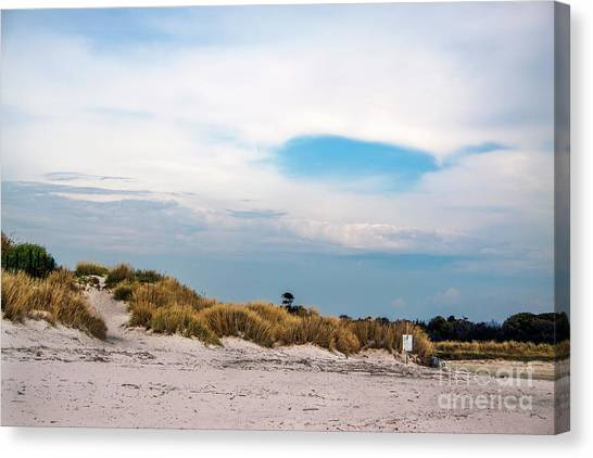Rosignano Beach Canvas Print