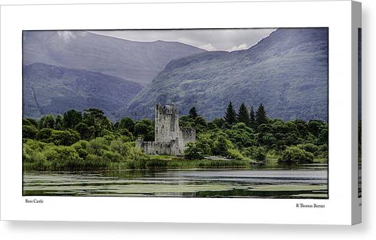Ross Castle Canvas Print
