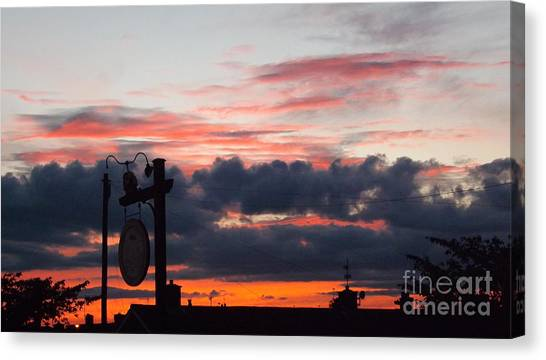 Rossington Sunset Canvas Print