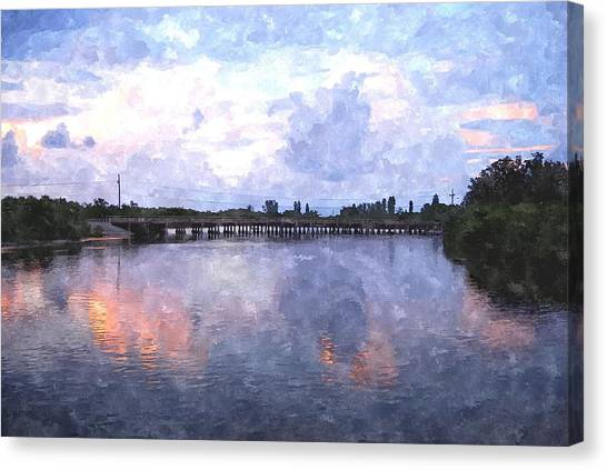 Rotonda River Roriwc Canvas Print