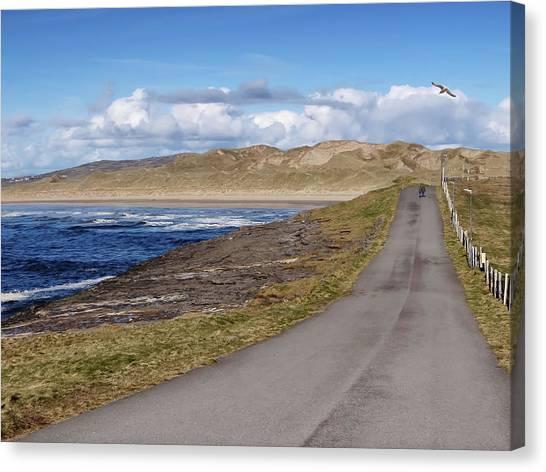Rougey Walk - Tullan Strand - Bundoran - Stroll On The Beautiful Wild Atlantic Way, Ireland - Spring Canvas Print